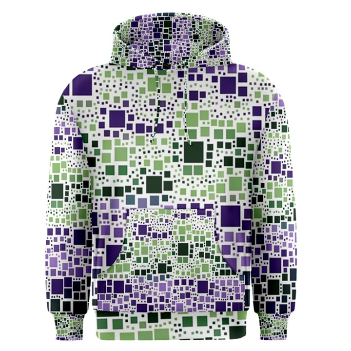 Block On Block, Purple Men s Pullover Hoodie