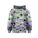 Block On Block, Purple Kids  Pullover Hoodie View1