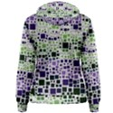 Block On Block, Purple Women s Pullover Hoodie View2
