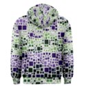 Block On Block, Purple Men s Zipper Hoodie View2