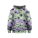 Block On Block, Purple Kids  Zipper Hoodie View1