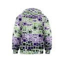 Block On Block, Purple Kids  Zipper Hoodie View2