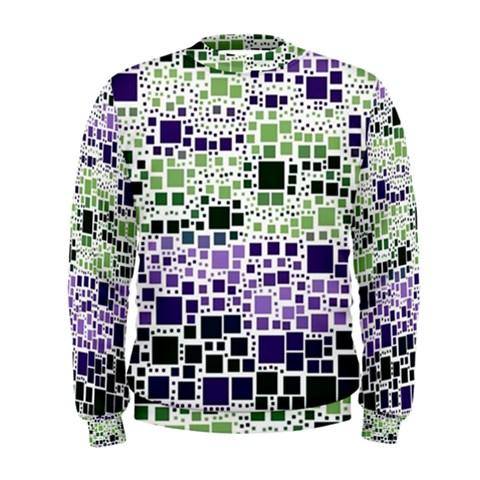 Block On Block, Purple Men s Sweatshirt