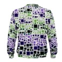 Block On Block, Purple Men s Sweatshirt View2