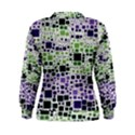 Block On Block, Purple Women s Sweatshirt View2