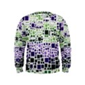 Block On Block, Purple Kids  Sweatshirt View1