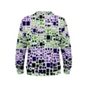 Block On Block, Purple Kids  Sweatshirt View2