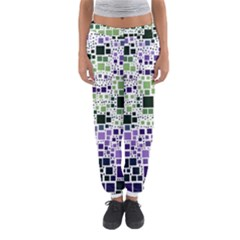 Block On Block, Purple Women s Jogger Sweatpants