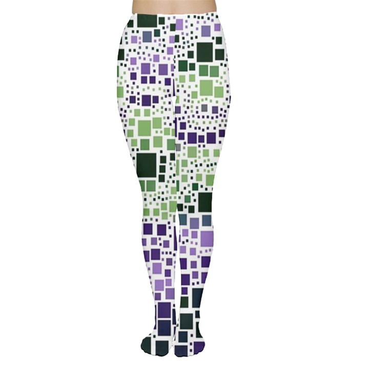 Block On Block, Purple Women s Tights