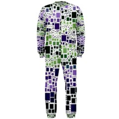 Block On Block, Purple OnePiece Jumpsuit (Men)