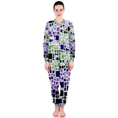 Block On Block, Purple OnePiece Jumpsuit (Ladies)