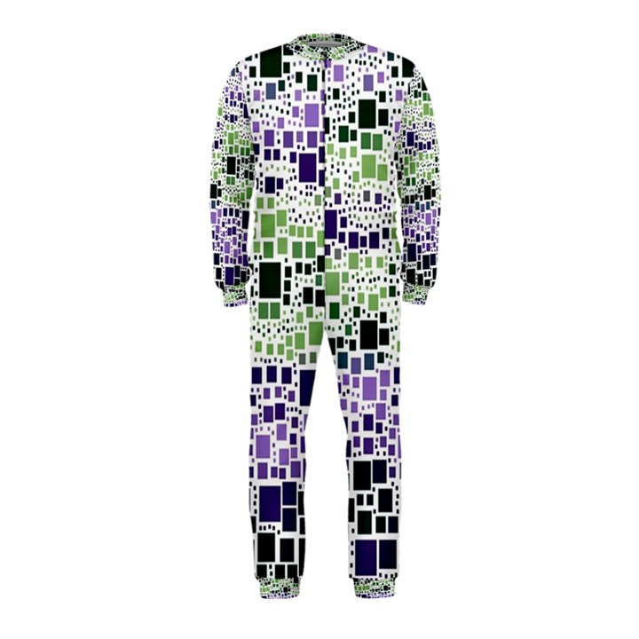 Block On Block, Purple OnePiece Jumpsuit (Kids)