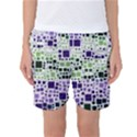 Block On Block, Purple Women s Basketball Shorts View1