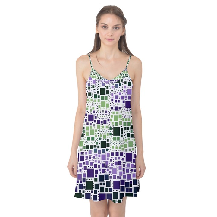 Block On Block, Purple Camis Nightgown
