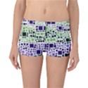 Block On Block, Purple Reversible Boyleg Bikini Bottoms View1