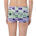 Block On Block, Purple Reversible Boyleg Bikini Bottoms View4