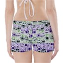 Block On Block, Purple Boyleg Bikini Wrap Bottoms View2