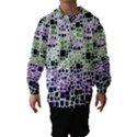 Block On Block, Purple Hooded Wind Breaker (Kids) View1