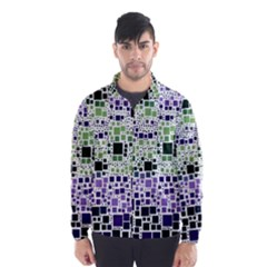 Block On Block, Purple Wind Breaker (Men)