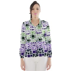 Block On Block, Purple Wind Breaker (women)