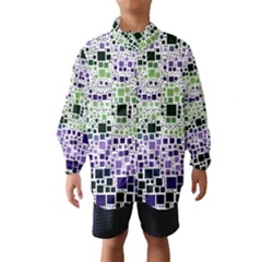 Block On Block, Purple Wind Breaker (Kids)