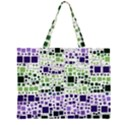 Block On Block, Purple Large Tote Bag View1