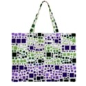 Block On Block, Purple Large Tote Bag View2