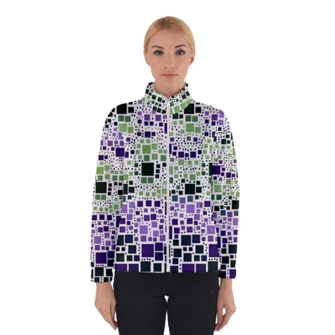 Block On Block, Purple Winterwear