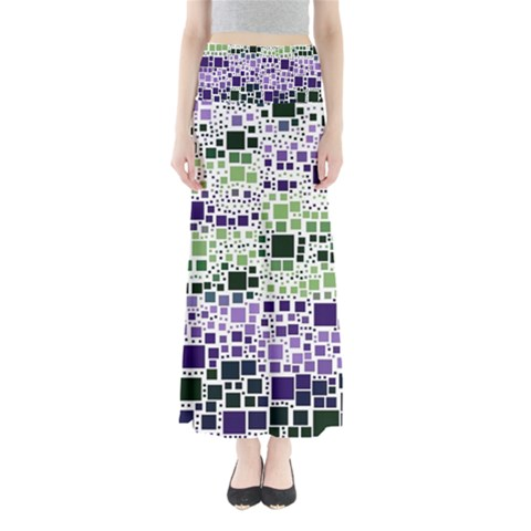 Block On Block, Purple Maxi Skirts