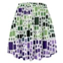 Block On Block, Purple High Waist Skirt View2