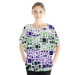 Block On Block, Purple Blouse