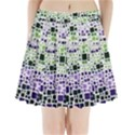 Block On Block, Purple Pleated Mini Skirt View1