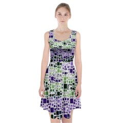 Block On Block, Purple Racerback Midi Dress