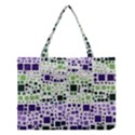 Block On Block, Purple Medium Tote Bag View1