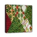 Christmas Quilt Background Mini Canvas 6  x 6  View1