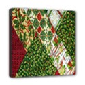 Christmas Quilt Background Mini Canvas 8  x 8  View1
