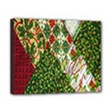 Christmas Quilt Background Canvas 10  x 8  View1