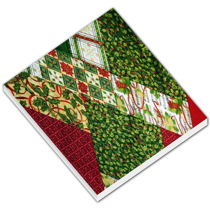 Christmas Quilt Background Small Memo Pads