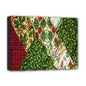 Christmas Quilt Background Deluxe Canvas 16  x 12   View1