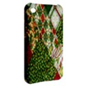 Christmas Quilt Background Apple iPhone 3G/3GS Hardshell Case View2
