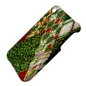 Christmas Quilt Background Apple iPhone 3G/3GS Hardshell Case View4