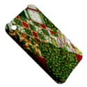 Christmas Quilt Background Apple iPhone 3G/3GS Hardshell Case View5
