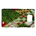 Christmas Quilt Background Samsung Galaxy S2 i9100 Hardshell Case  View1