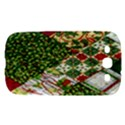 Christmas Quilt Background Samsung Galaxy S III Hardshell Case  View1