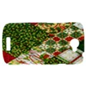 Christmas Quilt Background HTC One S Hardshell Case  View1