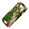 Christmas Quilt Background HTC One S Hardshell Case  View4