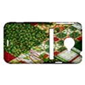 Christmas Quilt Background HTC Evo 4G LTE Hardshell Case  View1