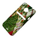 Christmas Quilt Background HTC Evo 4G LTE Hardshell Case  View4