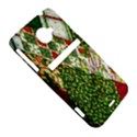 Christmas Quilt Background HTC Evo 4G LTE Hardshell Case  View5