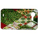 Christmas Quilt Background HTC Incredible S Hardshell Case  View1
